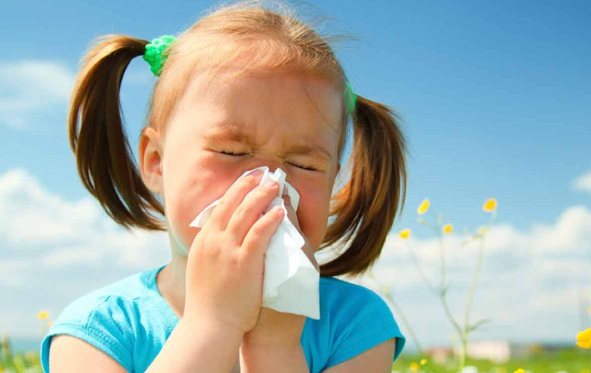 Кашель при пищевой аллергии у детей