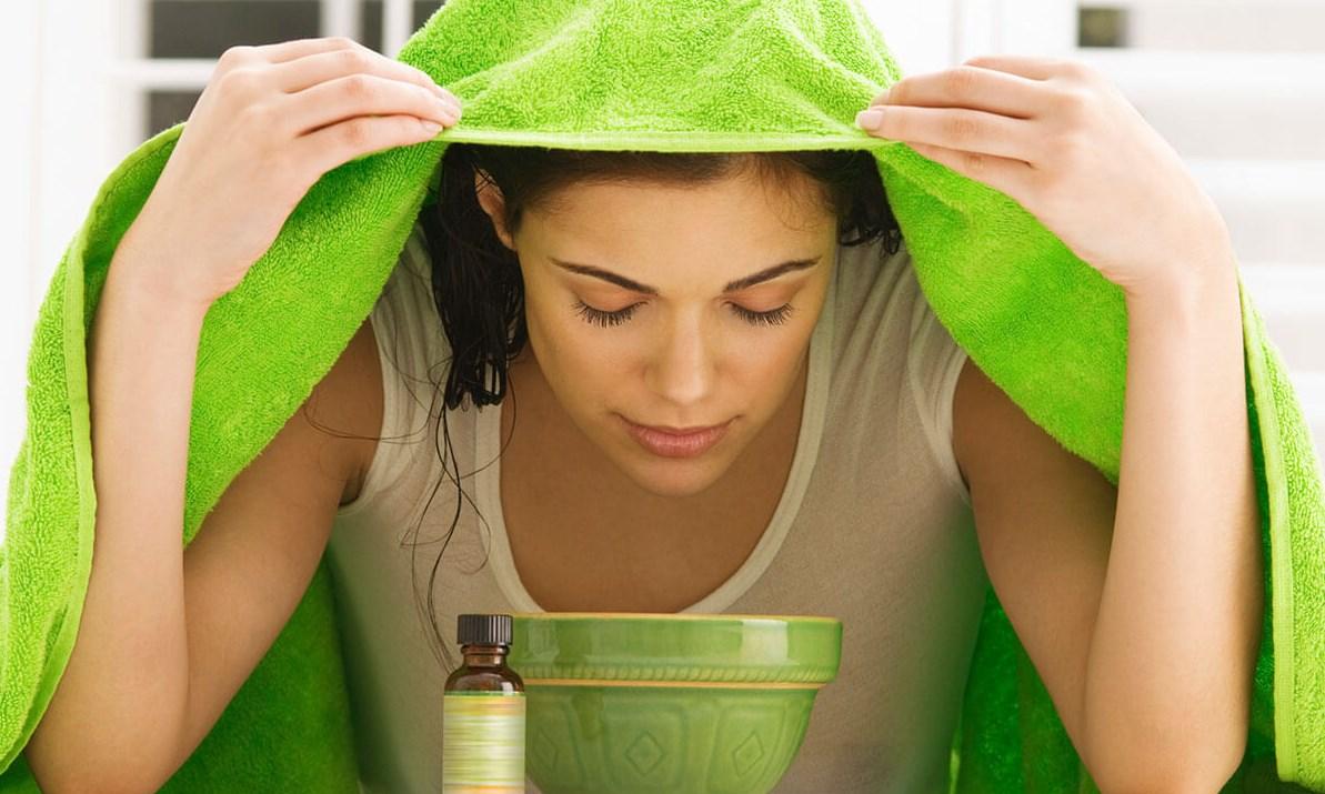 ингаляция полотенце