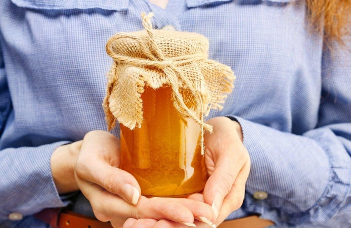 медовая лепешка от кашля