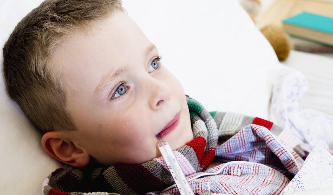У ребенка сильная кашель