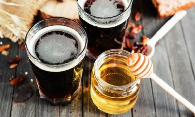 Пиво от кашля с медом