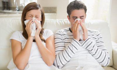 грипп у взрослого