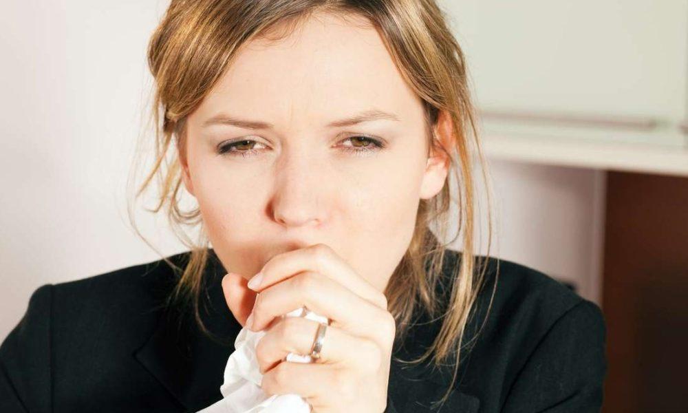 Мокрота в виде червячков — Нет насморка