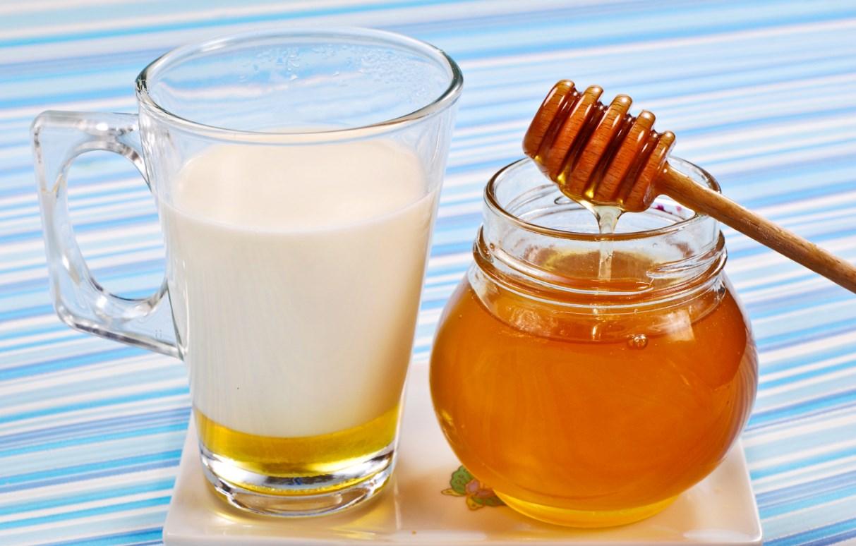 молоко сода и мед от кашля