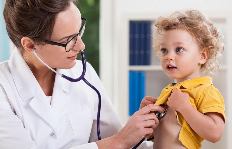 Сухой кашель у ребенка осмотр