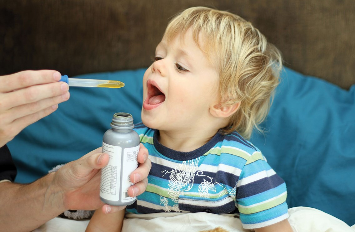 Раствор от кашля ребенку